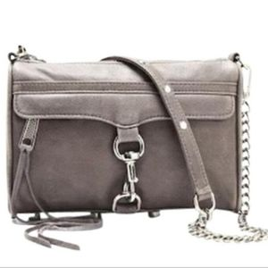 Rebecca Minkoff Grey Mini MAC handbag